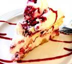 Lattice Cherry Cheesecake