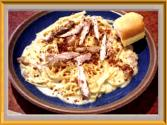 Cin's Lower Fat Linguine Carbonara