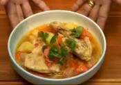Thai Hot Chicken Vegetable Soup