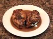 Mushroom & Chestnut Stuffed Chicken Breasts