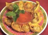 Chinese Deep Fried Pork And Shrimp Wonton