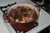 Coq Au Vin With Dry Red Wine