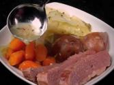 Steamed Corned Beef And Cabbage