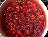 Raw Cranberry And Orange Relish
