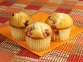 Cranberry Muffins And Creamy Orange Spread