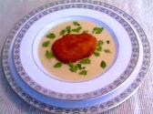 Puree Of Cauliflower And Watercress With Cream
