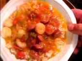 Stir Fried Creole Gumbo