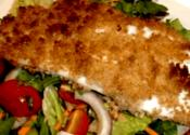 Stuffed Flounder Fillets With Watercress Sauce