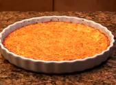 Crustless Carrot Quiche