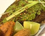 The Posh Pescatarian: Havana Style Whole Fish With Blackeye Pea Fritters (bollitos)