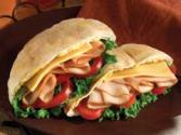 Turkey Pita Rounds