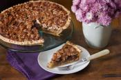 Spiced Pumpkin Pie With Pecan Pastry Crust
