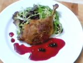 Roast Duck With Apple Sauce