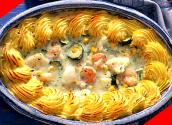 English Seafood Pie