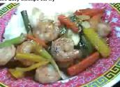 Shrimp And Vegetable Stir Fry