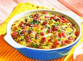 Scrambled Egg Casserole With Bacon