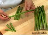 How To Remove The Stalk Of Asparagus