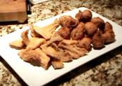 Fried Catfish And Buttermilk Hushpuppies