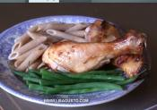Chicken Drumsticks In Ginger Sauce