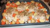 Roasted Chicken With Seasonal Vegetables