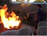 How To Light A Real Ozzie Barbecue
