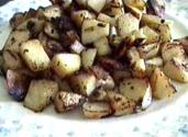 Cheezy Brown Potatoes