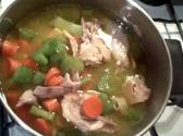 Chicken Thighs With Carrots And Celery