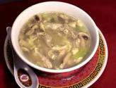 Cream Of Chicken Soup With Green Onion