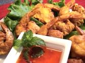 Thai Crispy Deep Fried Shrimps