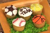 How To Decorate Sports Cupcakes