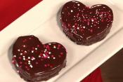 Heart Shaped Valentine Brownies