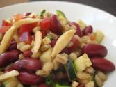 Barley Almond Salad