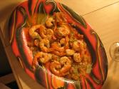 Pizza Beer  Soaked Prawns With Jalapeno