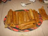 Making Pizza Beer Tamales