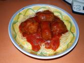 Italian Meatballs With Gravy