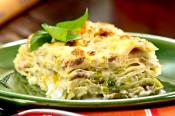Three Cheese Italian Lasagna
