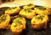 Twice-baked Green Jalapeno Potatoes - Part 1