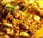 Ham And Seafood Jambalaya