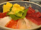 Kaisendon (japanese Sashimi Rice Bowl)