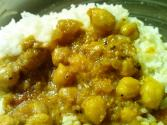 Celery And Chick Pea Curry With Apple