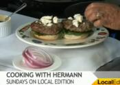 Lamb Burgers With Mint And Feta Cheese