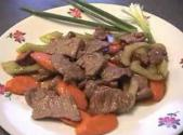 Laotian Beef Steak Stir Fry