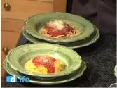 Cheese Topped Spaghetti Squash