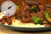 Beef And Broccoli & Chicken Skillet