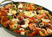 Mexican Salad With French Dressing