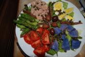 Nicoise Salad Using Red Wine Vinegar