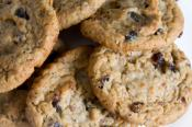 Low Fat Oatmeal Raisin Cookies
