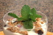 Yogurt Cheese Parfait