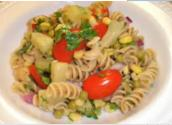 Pasta Salad With A Low Fat Dressing