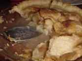 Deep Dish Rhubarb Pie With Cream Cheese Pastry